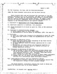 [Response from the Black Students Association to the President, Dean, and President-delegate, March 7, 1969]