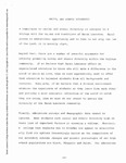[The Report of the Walrus Committee - Racial and Ethnic Diversity, April 27, 1988]
