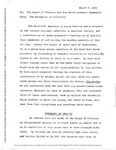 [A Statement from the Occupiers of Westlands to the Board of Trustees and the Sarah Lawrence Community, March 8, 1969] by [Unknown]
