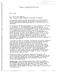 [Memo from George B. Adams to College Community, May 3, 1989]
