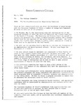[Memo from the Negotiating Committee to the College Community, May 3, 1989]
