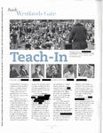 [Sarah Lawrence Magazine article on the Teach-in, Autumn 2004] by [Redacted]